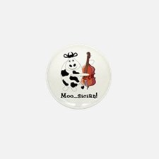Cow Moo...sician! Mini Button (10 pack)