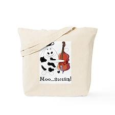 Cow Moo...sician! Tote Bag