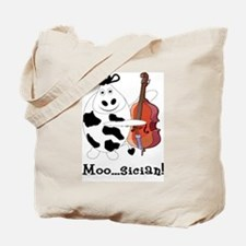 Cow Moo...sician! Tote Bag