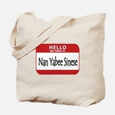 Name is None of Your Business Tote Bag