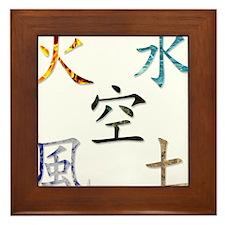 5 Elements Framed Tile