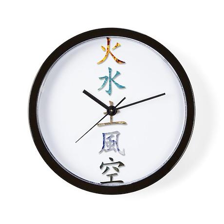 5 Elements Wall Clock