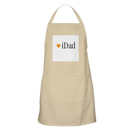 iDad Orange Father & Baby BBQ Apron