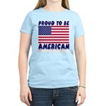 Proud to Be American Women's Pink T-Shirt
