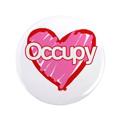 """Occupy Love 3.5"""" Button (100 pack)"""