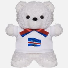 Cape Verde Flag Teddy Bear