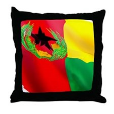Cape Verde Flag Throw Pillow