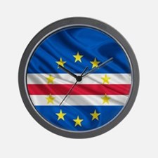 Cape Verde Flag Wall Clock