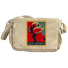 Sock Monkey Hope Messenger Bag