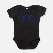 Dark Blue Mountain Bike Body Suit