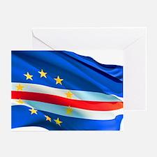 Cape Verde Flag Greeting Cards (Pk of 20)