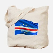 Cape Verde Flag Tote Bag