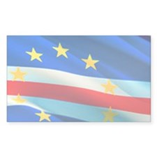 Cape Verde Historic Flag Decal