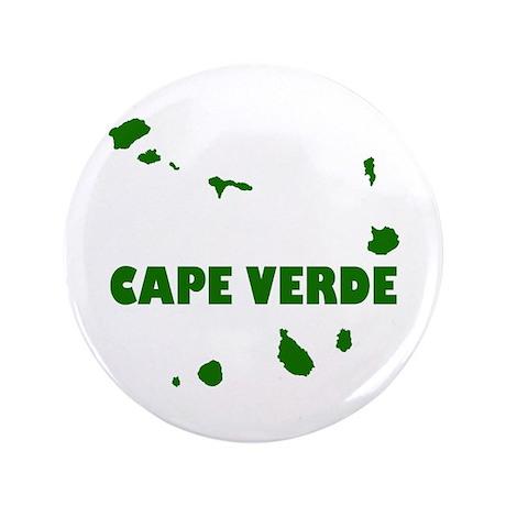 "Cape Verde Islands 3.5"" Button (100 pack)"