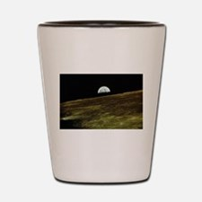 Earthrise Shot Glass