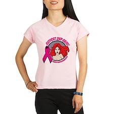 2ndBase Redhead Breast Cancer Performance Dry T-Sh