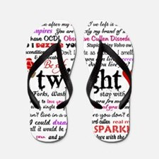 Twilight Terms Flip Flops