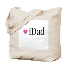 iDad Pink Father & Baby Tote Bag