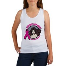 2nd Base Girl Breast Cancer Women's Tank Top