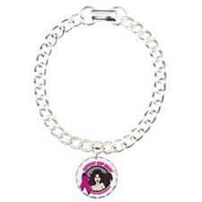 2nd Base Girl Breast Cancer Bracelet