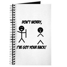 I've got your back Journal