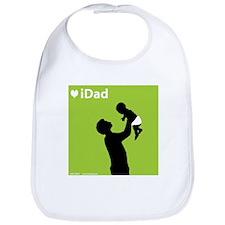 iDad Green Father & Baby Bib