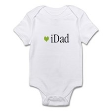 iDad Green Father & Baby Infant Creeper