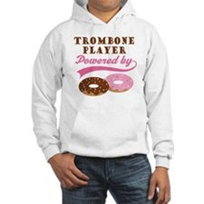 Trombone Player Powered By Donuts Hoodie