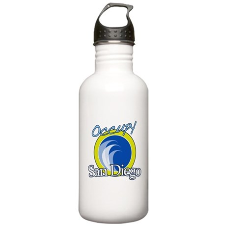 Occupy San Diego Stainless Water Bottle 1.0L
