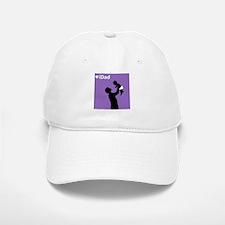 iDad Purple Father & Baby Baseball Baseball Cap