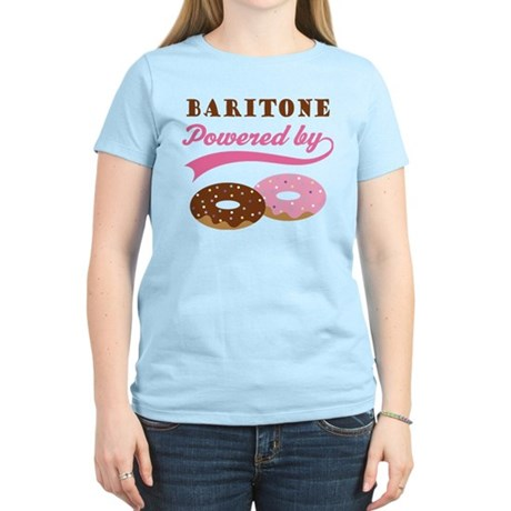 Baritone Powered By Donuts Women's Light T-Shirt