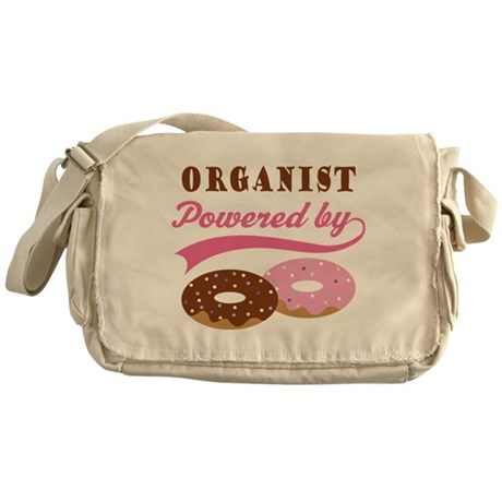 Organist Powered By Donuts Messenger Bag