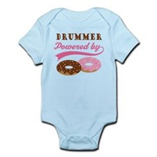 Drummer Powered By Donuts Infant Bodysuit