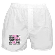 Licensed Fight Like a Girl 23.4 Boxer Shorts