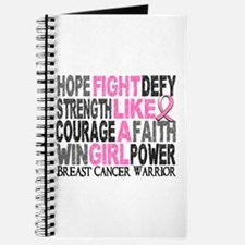 Licensed Fight Like a Girl 23.4 Journal