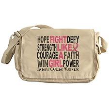 Licensed Fight Like a Girl 23.4 Messenger Bag