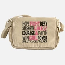 Licensed Fight Like a Girl 23.4 Messenger Bag