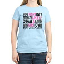 Licensed Fight Like a Girl 2 T-Shirt