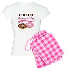 Violist Powered By Donuts Women's Light Pajamas