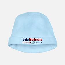 Vote Moderate baby hat