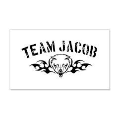 Team Jacob Design 22x14 Wall Peel