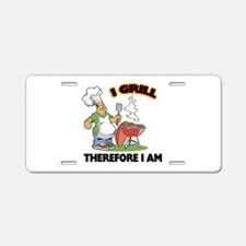 I Grill Aluminum License Plate