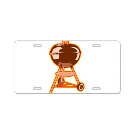 Hot Grill Aluminum License Plate