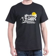 Hawaiian Surf Zombies White T-Shirt