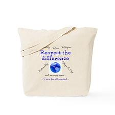 Unique Respect Tote Bag