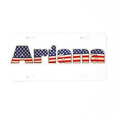American Ariana Aluminum License Plate