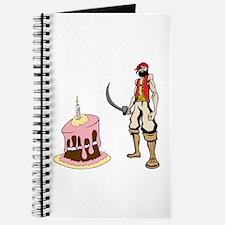 Pirate and Birthday Cake Journal