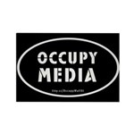 Occupy Media Rectangle Magnet (10 pack)