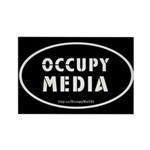 Occupy Media Rectangle Magnet