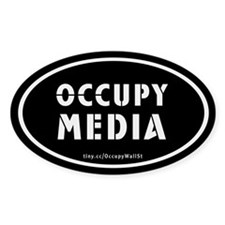 Occupy Media Decal